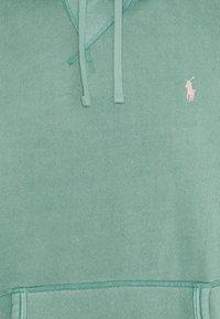 Polo Ralph Lauren - GARMENT DYED HOODIE - Felpa con cappuccio - haven green - 2