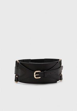 NABIT WAIST BELT - Waist belt - black/gold
