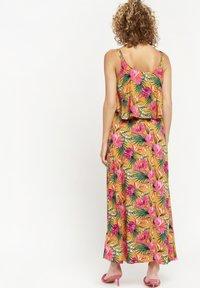 LolaLiza - TROPICAL - Maxi dress - yellow - 2