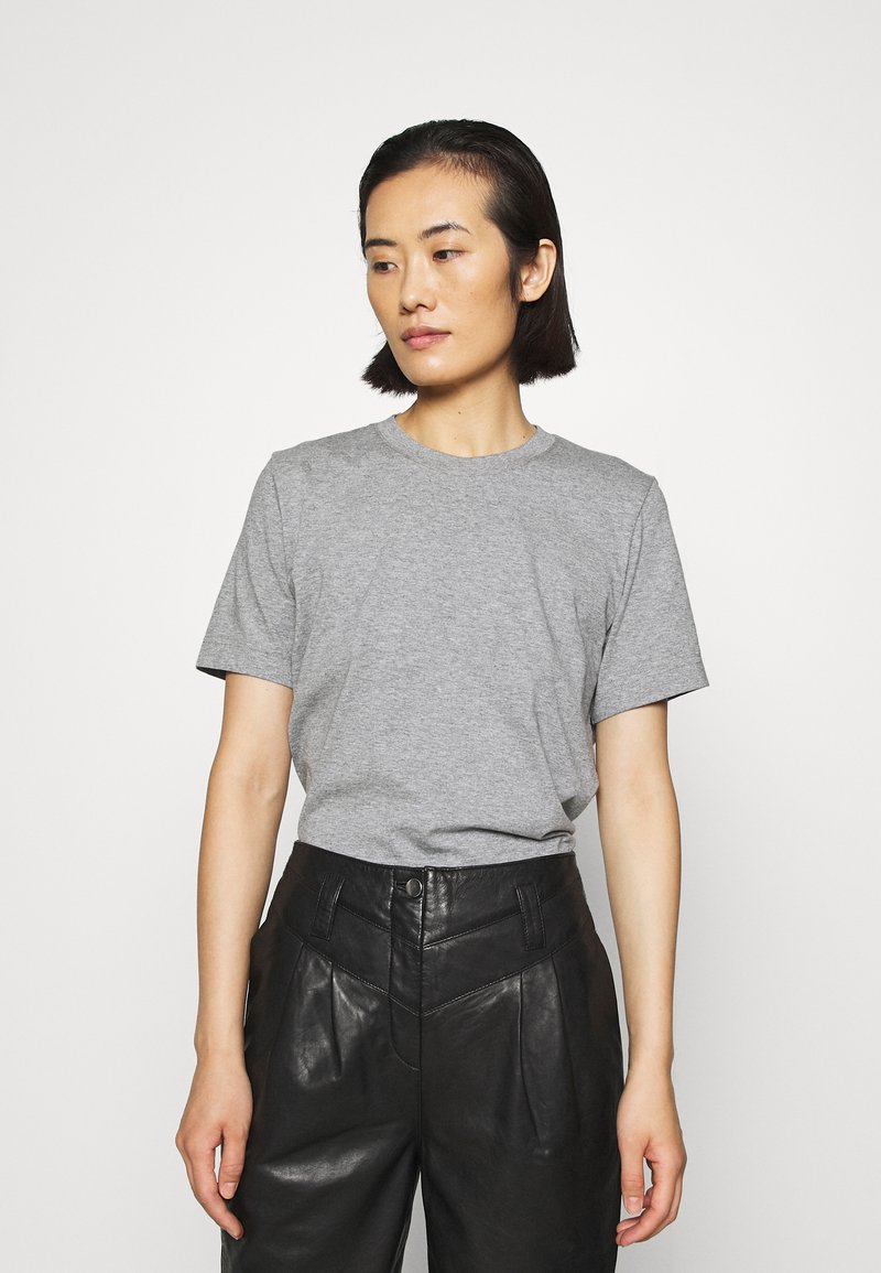 ARKET - Basic T-shirt - grey medium dusty