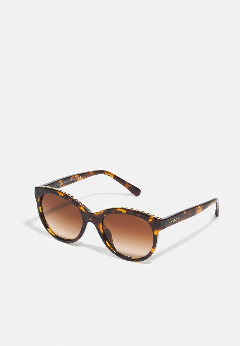 Coach - Sluneční brýle - dark tortoise