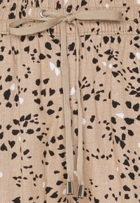 Marks & Spencer London - TAP PRINT - Trousers - light brown - 2