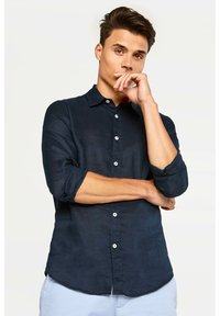 WE Fashion - SLIM-FIT - Košile - dark blue - 3
