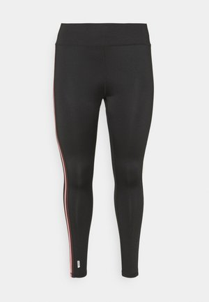 ONPBAKO TRAINING TIGHTS CURVY - Leggings - black