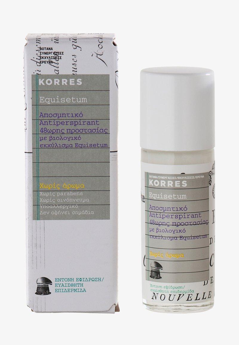 Korres - EQUISETUM 48H DEODORANT FRAGRANCE FREE - Deodorant - -