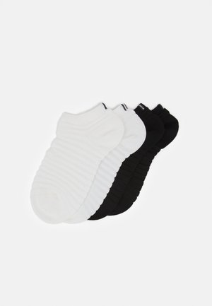SNEAKER 4 PACK - Socks - black/white