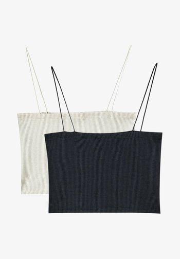 2 PACK  - Linne - off white