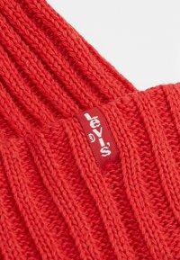 Levi's® - RIBBED BEANIE - Czapka - brilliant red - 5