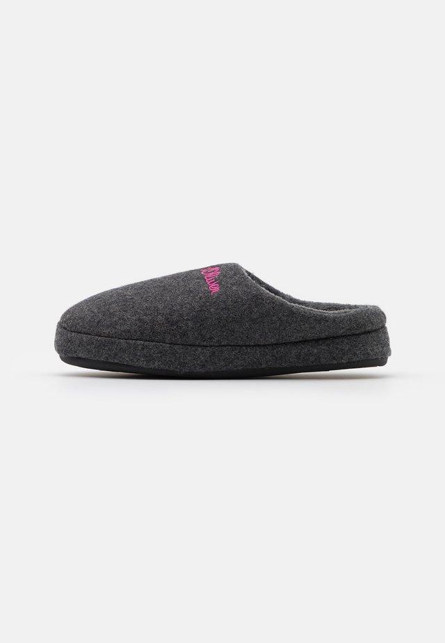 SLIDES - Slippers - anthracite
