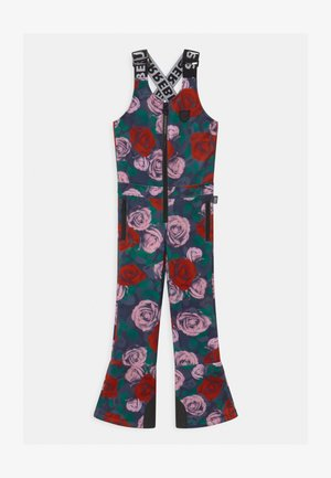 SUSTSAINABLE FUNCTIONAL DUNGAREE UNISEX - Snow pants - cool rose