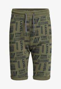 WE Fashion - Shorts - dark green - 3