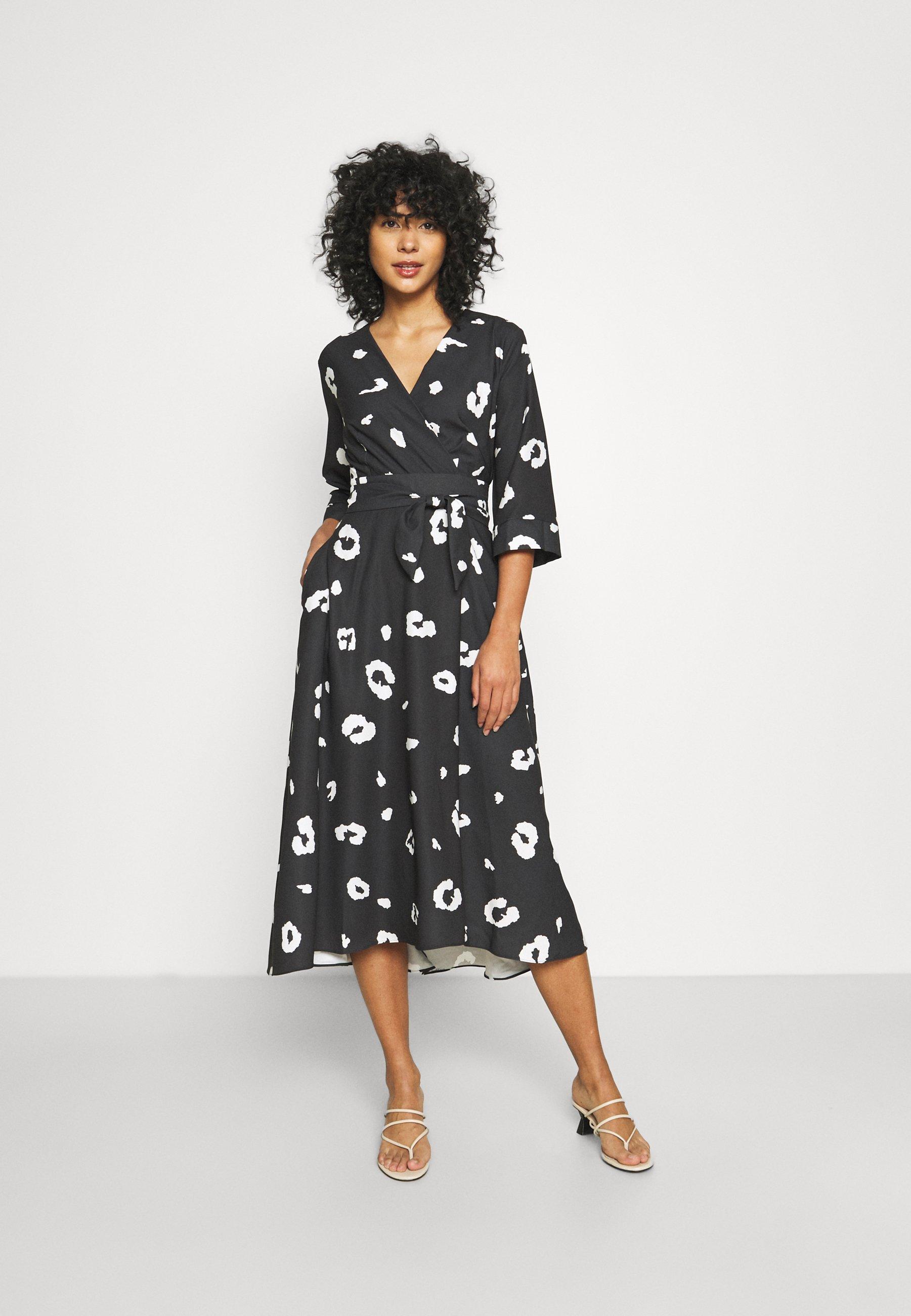 Damen LONDON HIGH LOW WRAP DRESS - Cocktailkleid/festliches Kleid