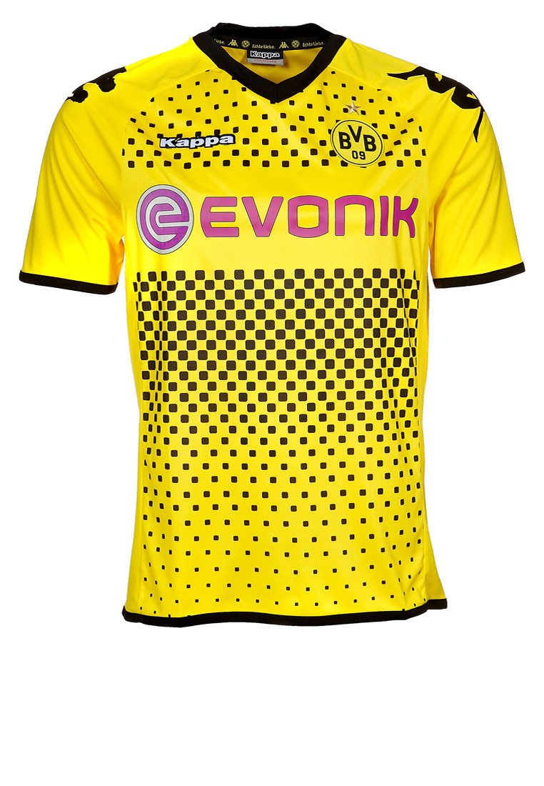 Kappa - BVB HEIMTRIKOT 2011/12 - Club wear - gelb