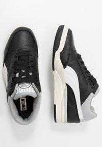 Puma - PALACE GUARD CORE - Trainers - black/whisper white/high rise/white - 1