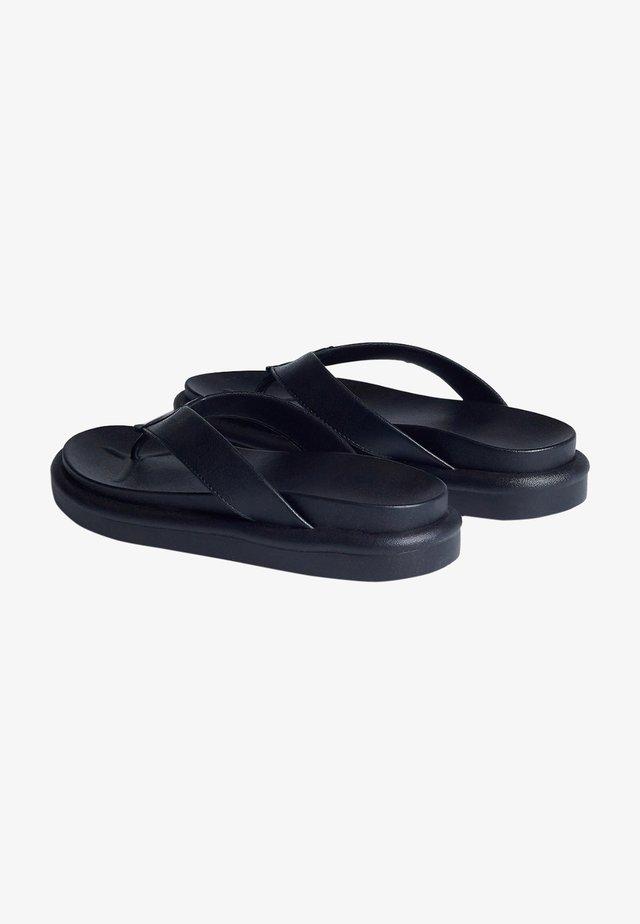 Teensandalen - black