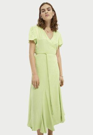 Korte jurk - seaweed