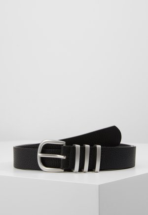 PCLEA JEANS BELT - Belt - black/silver