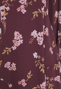 Vero Moda Petite - VMRIBINA DRESS - Shirt dress - fig - 6