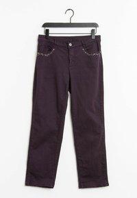 Bonita - Trousers - purple - 0