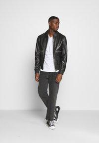 Tigha - DELMORE - Leather jacket - black - 1