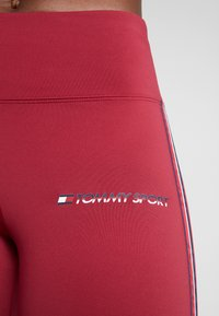 Tommy Sport - CLASSIC - Leggings - red - 5