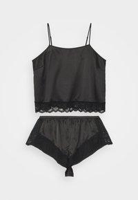 Playful Promises - CAMI AND SHORTS SET - Pyjama - black - 0