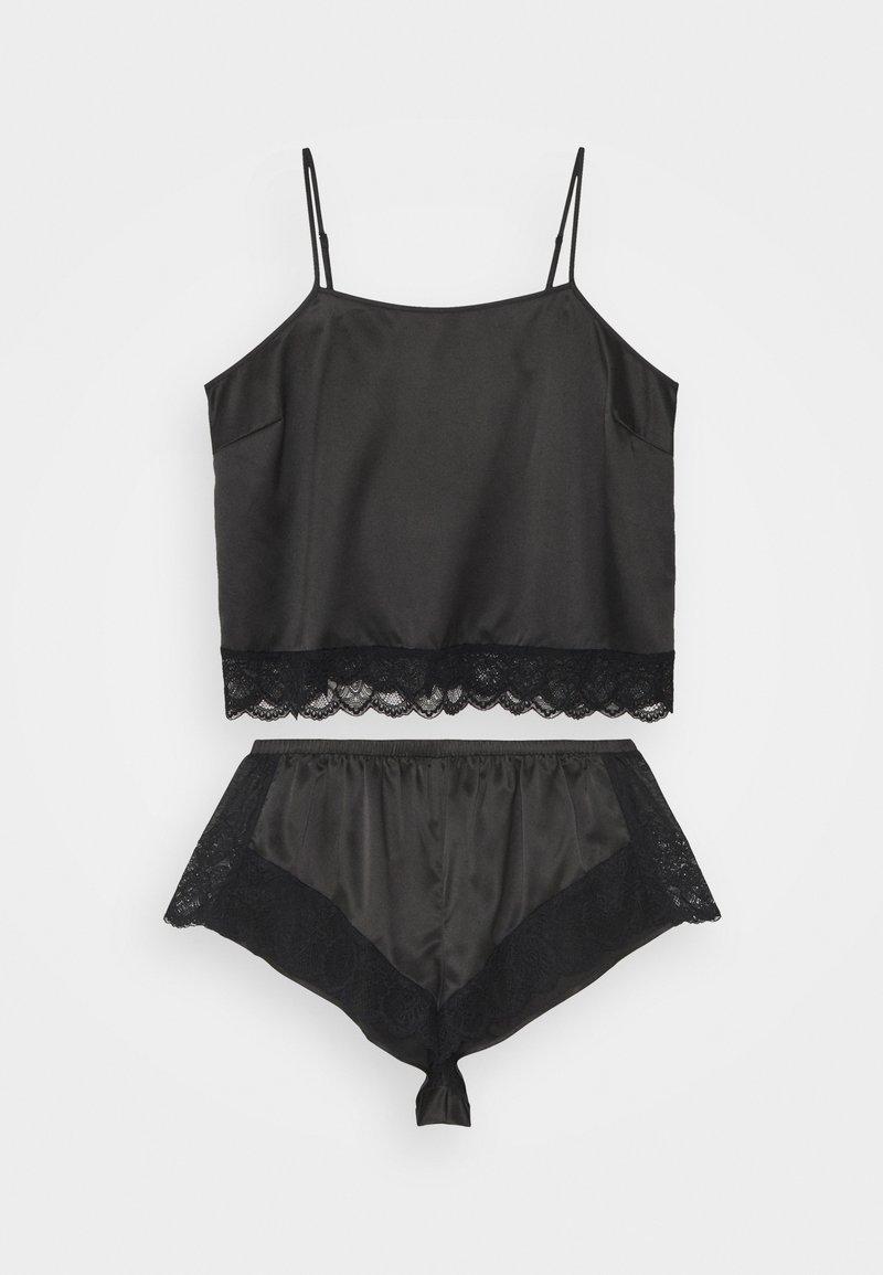 Playful Promises - CAMI AND SHORTS SET - Pyjama - black