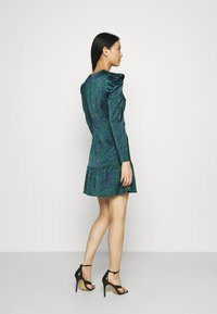 Who What Wear - WRAP OVER PARTY DRESS - Cocktail dress / Party dress - green - 2