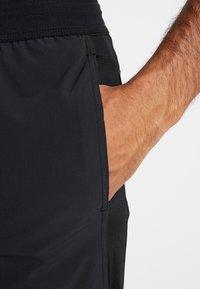 Nike Performance - SHORT YOGA - Sports shorts - black/iron grey - 3
