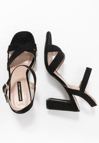 Dorothy Perkins - SELENA BLOCK  - High heeled sandals - black - 1