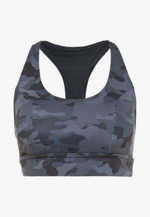 WARRIOR BRA - Sports bra - black/gray