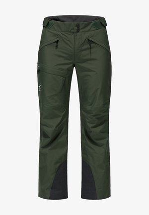 LUMI FORM PANT - Snow pants - fjell green