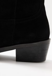 Ca'Shott - Cowboy/biker ankle boot - black