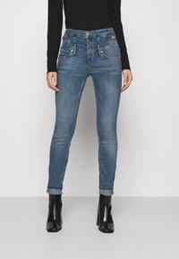 Liu Jo Jeans - RAMPY - Jeans slim fit - denim blue dazed wash - 0