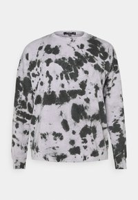 Missguided Plus - TIE DYE - Sweatshirt - lilac - 0