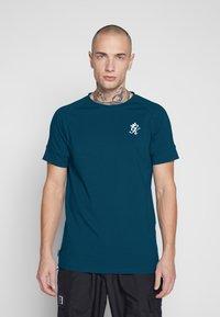 Gym King - CORE - T-shirt print - ink blue - 0