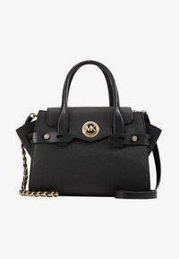 MICHAEL Michael Kors - FLAP SATCHEL - Handbag - black - 4