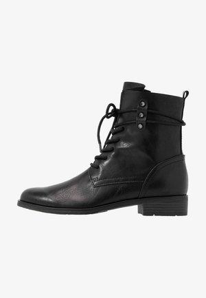 BOOTS - Šněrovací kotníkové boty - black antic