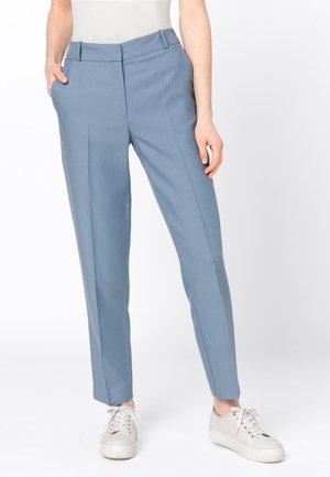 MIT LEINEN & TENCEL - Trousers - light blue