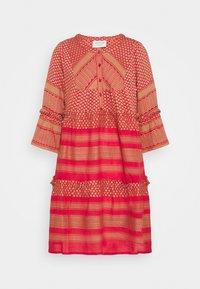 CECILIE copenhagen - JADE DRESS - Day dress - camel/red - 0
