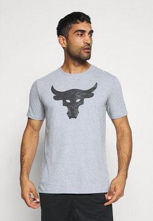 ROCK BRAHMA BULL - T-Shirt print - steel light heather