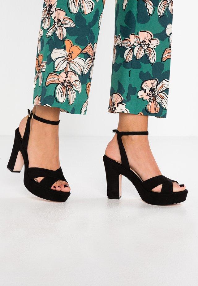 DORM - High heeled sandals - black