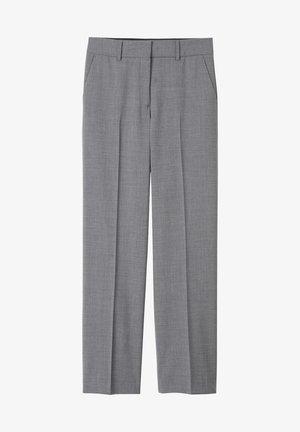 Pantalon classique - grey melange