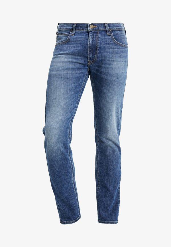 Lee DAREN ZIP FLY - Jeansy Straight Leg - broken blue/szaroniebieski Odzież Męska NFUE