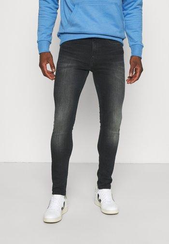 SUPER SKINNY - Jeans Skinny Fit - blue