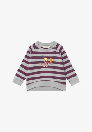 LEOTIE BABY - Mikina - purple/grey