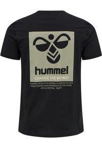 Hummel - HMLTORONTO  - T-shirts print - black - 11