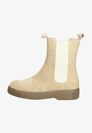 Boots à talons - beige