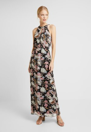 Maxi dress - blue/rose