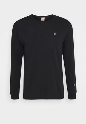 CREWNECK LONG SLEEVE - Langærmede T-shirts - black